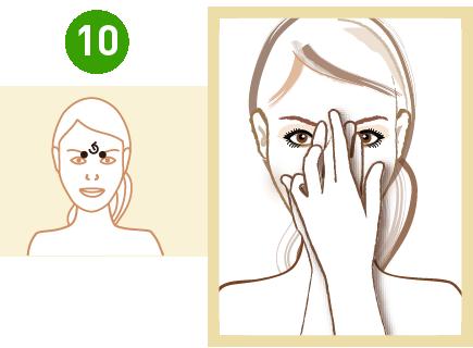 masaż trzeciego oka