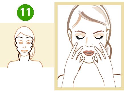 oklepywanie twarzy