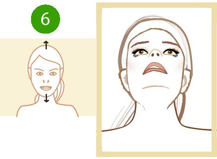 podnoszenie i opuszczenie głowy