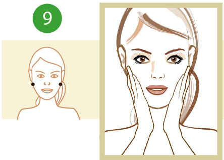 tylna część twarzy